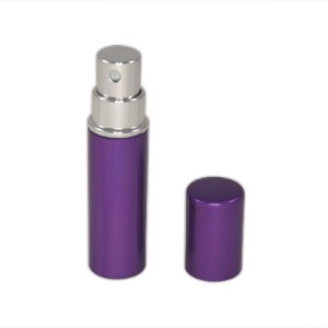 Flacon vaporisateur 5ml en aluminium violet