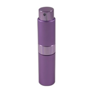 Flacon vaporisateur 10ml en aluminium violet