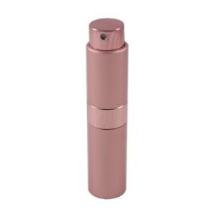 Flacon vaporisateur 10ml en aluminium rose pale