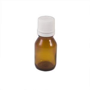 """Flacon codigoutte 15ml verre brun """"huile"""""""