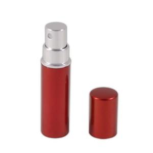 Flacon vaporisateur 5ml en aluminium rouge