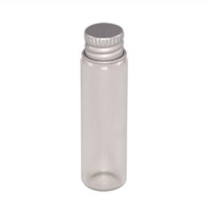 Flacon verre 6ml capsule aluminium