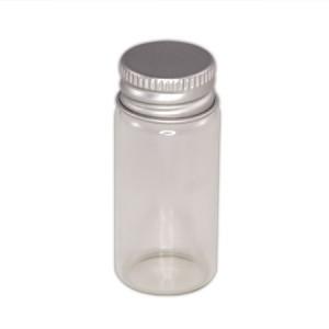Flacon verre 10ml capsule aluminium