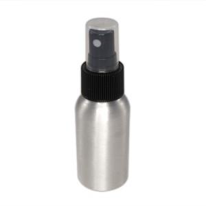 Flacon aluminium 50ml vaporisateur noir