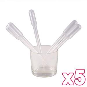 5 pipettes 3ml