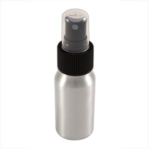 Flacon aluminium 30ml vaporisateur noir
