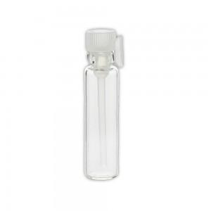 Flacon verre 1ml (bouchon translucide)