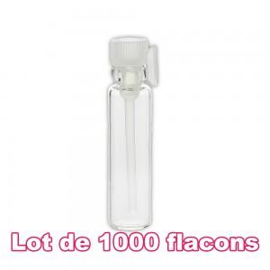 Lot de 1000 flacons verre 1ml