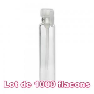 Lot de 1000 flacons verre 2ml