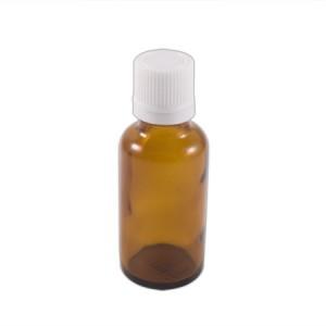 """Flacon codigoutte 30ml verre brun """"huile"""""""